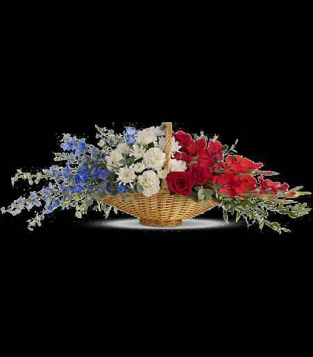 17 Best Images About Red White And Blue Flowers On Pinterest
