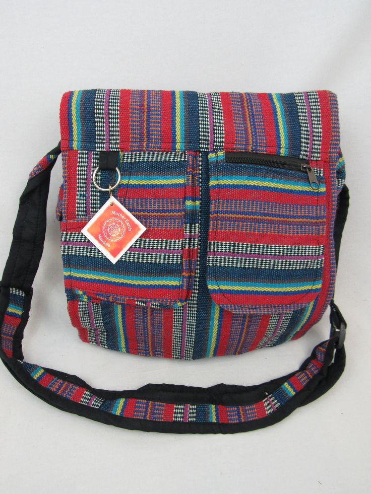 Carrier satchel handmade laptop school bag crossbody bag multipurpose bag by Motherearthmandala on Etsy