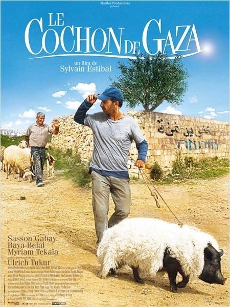 """César 2012 pour le premier film """" Le cochon de Gaza"""", Realisateur Sylvain Estibal. MAGNIFIQUE FILM !!!"""