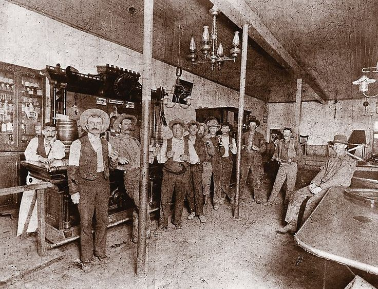 Taken in 1899, just after George Hennessey was hired to work for the cattle outfit in Holbrook, this photo, captured at the Fashion Saloon in Winslow, includes several Hash Knife cowboys. The men are identified as (from left) bartender Mike Oyster, Lucien Creswell, Bill Balcom, Frank Black, Cap Begnal, Tom Williams, George Hennessey, Ed Bargman, Doug Johnson, Frank Dane and Johnny Hoffman.