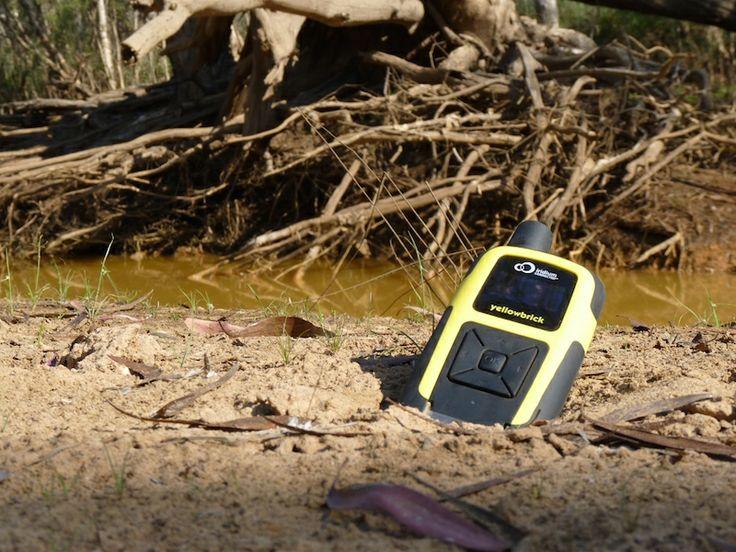 Personal Tracking Device – Bushwalking with Yellowbrick