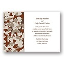 Camouflage Wedding Invitations for Themed Weddings