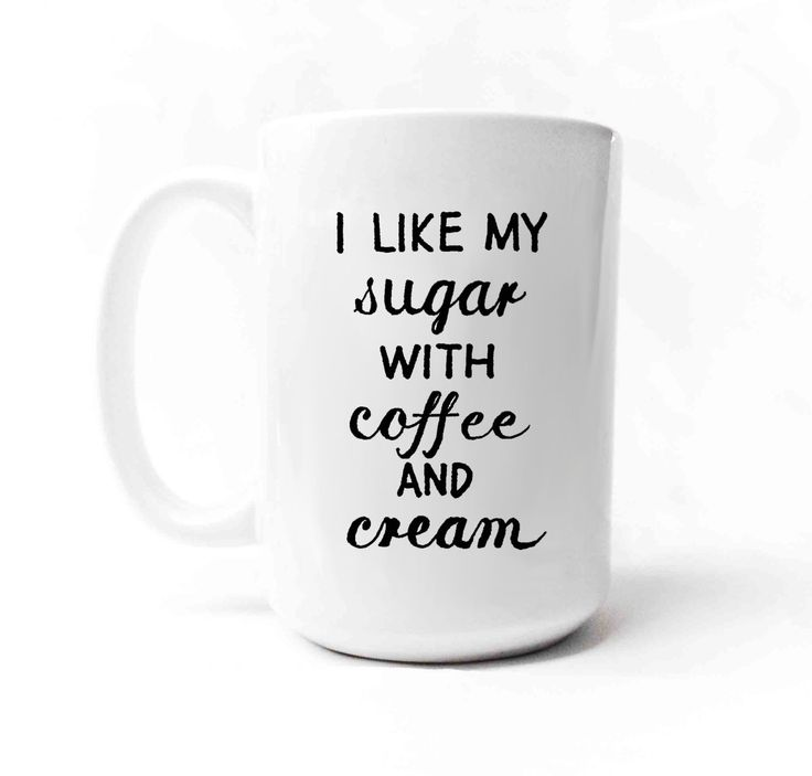 Beastie Boys I like my sugar with coffee and cream by gnarlyink on Etsy, $16.99