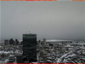 RT @4castrnh: Finally we can see the Boston Airport from the Prudential Center, it's the white slab in the distance!! http://pbs.twimg.com/media/BCr1IkTCcAAS9Ry