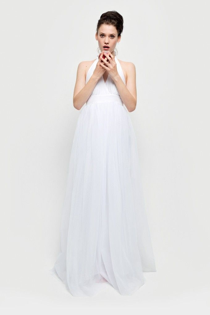 Robe blanche naf naf 2012