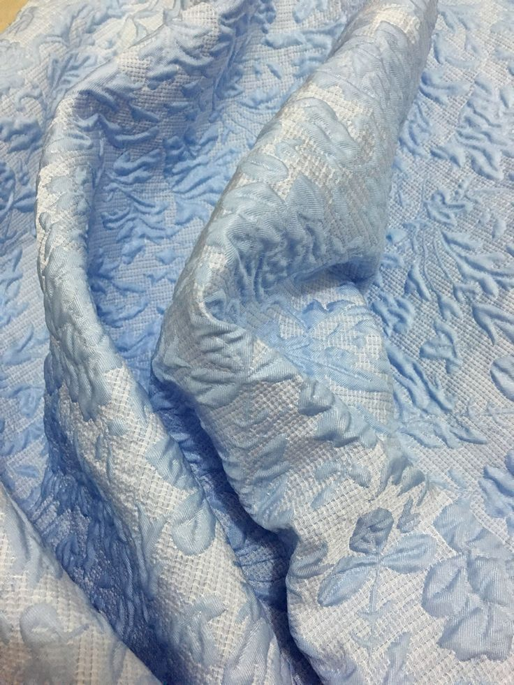 3D embossed brocade jacquard fabric,blue and yellow color women coat tissu polyester fabric,solid color brocade jacquard fabric