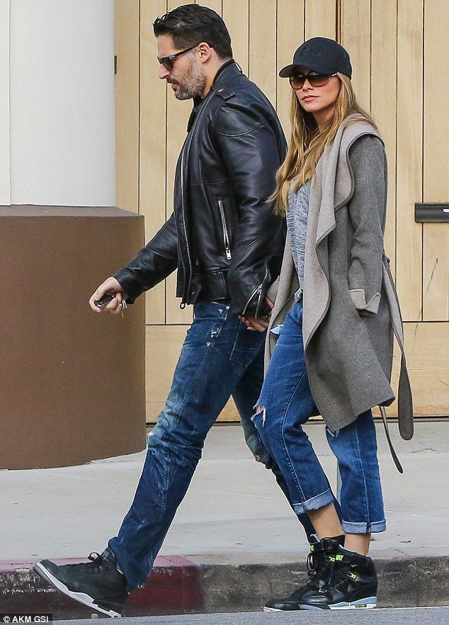 Birthday breakfast: Modern Family star Sofia Vergara and her husband, Joe Manganiello, looked the dictionary definition of newlywed bliss, as they celebrated the actor's 39th birthday