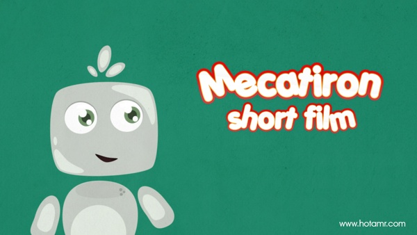 Mecatiron | Cartoon Short Film By Amr ELshamy - hotamr by Amr Elshamy, via Behance