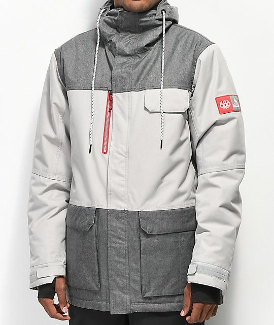 ce91fcf6c047 686 x Coors Light Sixer Grey 10K Snowboard Jacket | Weather Jackets ...