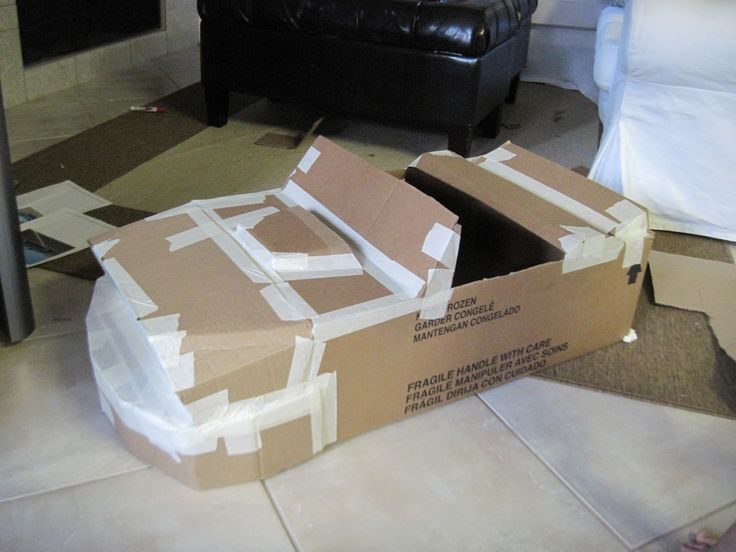cardboard box cop car halloween costume | And Then There Was Home: Happy Hot-Rod-aween!