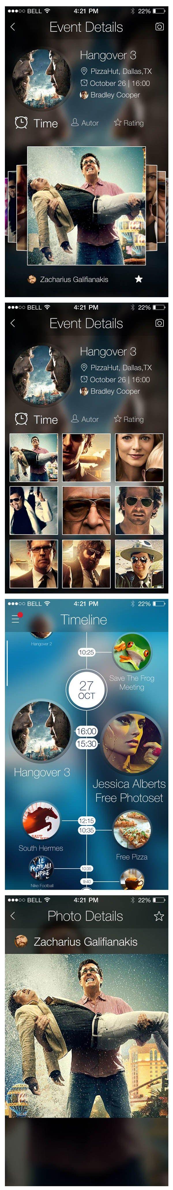 iOS7 Photo+Event App