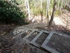 building gardens structures on a steep hillside - Yahoo Image Search Results