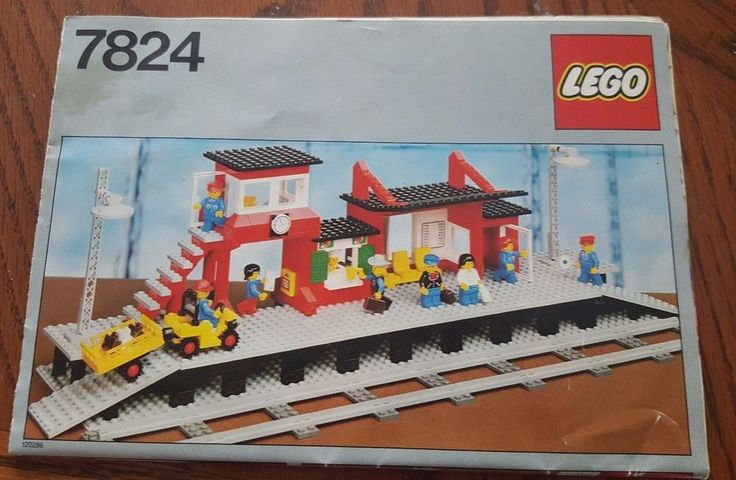 Lego Set 7824 Railway Station Manual Only 1983 VTG Vintage Rare #Lego