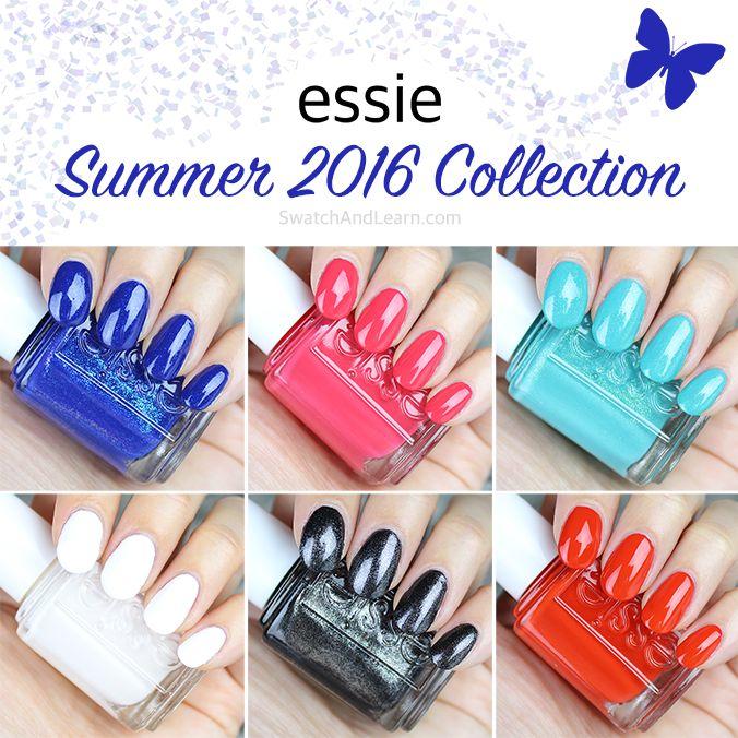 Essie Summer 2016 Collection Swatches