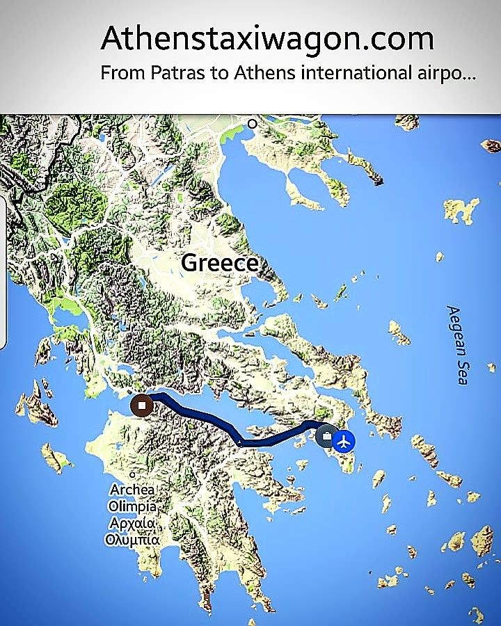 athenstaxiwagon #athenstaxiwagonservice #ultra #long #distance #private #tranfer #from #patras #to #athensinternationalairport #surewefit