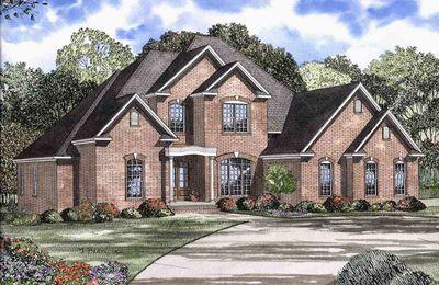Elegant Two Story House Plan - 59433ND thumb - 01