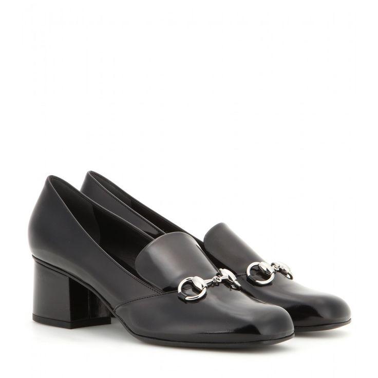 Gucci - Embellished leather pumps - Gucci's iconic horsebit embellishment  adorns these sleek pumps, locking