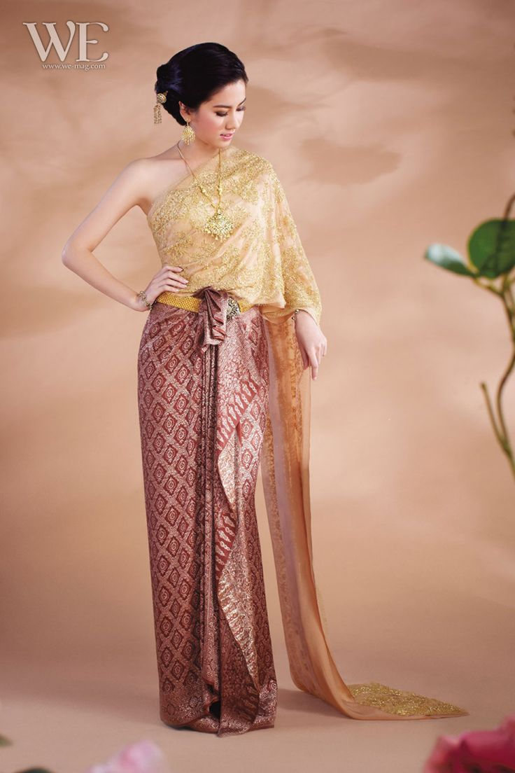 140 best thai lady traditional costumes images on for Thai style wedding dress