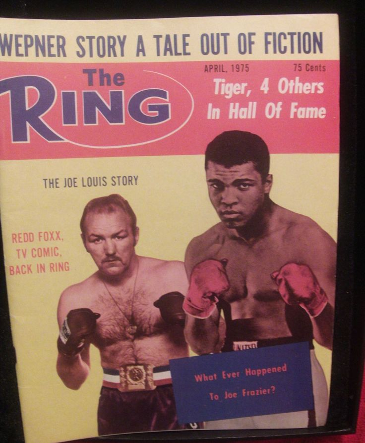 Muhammad Ali vs. George Foreman; The Ring Names Canto as World Fly Champ; Chuck Wepner; Hall of Fame Inductees; Redd Foxx Back in Boxing