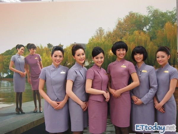 chinese air hostess naked