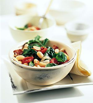 """From """"WHITE BEAN AND SPINACH SALAD"""" story by JillMckenzie on Storify — http://storify.com/JillMckenzie/white-bean-and-spinach-salad"""