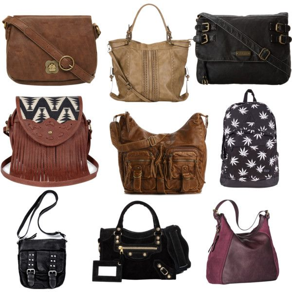 """Natural Personality Style (Handbags)"" by silhouetteimage on Polyvore"