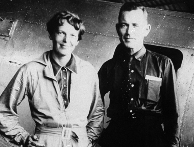 Fred Noonan, who disappeared with Amelia Earhart in 1937