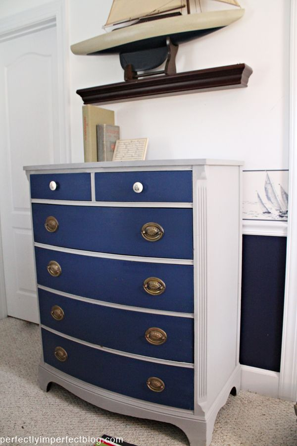 Perhaps I can jazz up my old dresser project by doing something like this. Best 25  Nautical dresser ideas on Pinterest   Nautical furniture