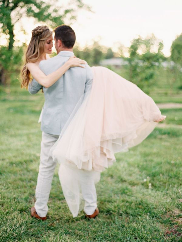 Bride in Pink Skirt | photography by http://www.sarahasstedt.com/