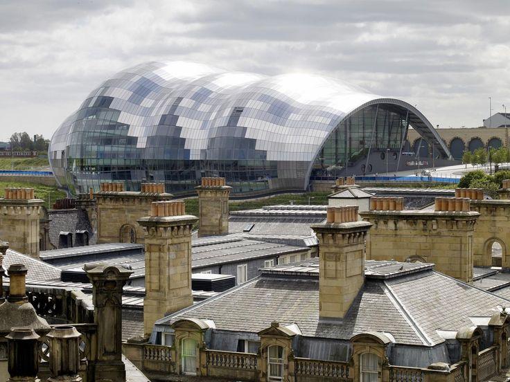 Sage Gateshead, Gateshead, England (Foster + Partners, 2004)