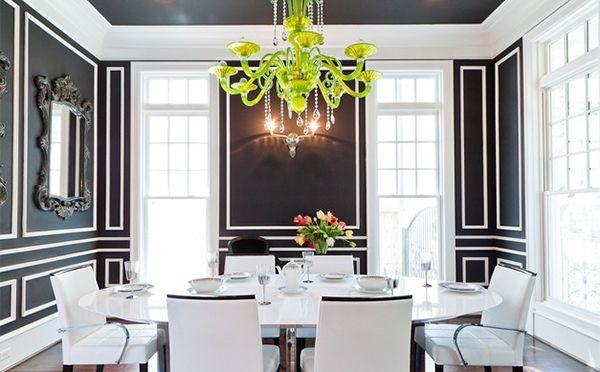 15 Black Contemporary Dining Room Ideas