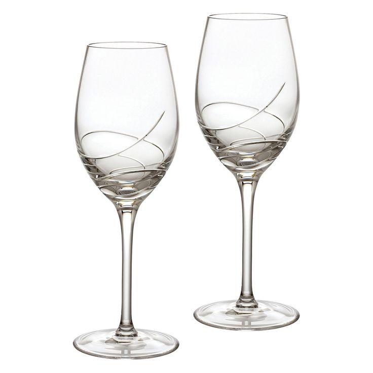 Waterford Ballet Ribbon Essence 14 oz. White Wine Glass - Set of 2 - 149701