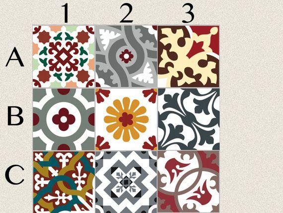 17 best ideas about stickers salle de bain on pinterest - Stickers pour carrelage cuisine ...