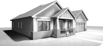 Plan 62565DJ: Craftsman Ranch House Plan