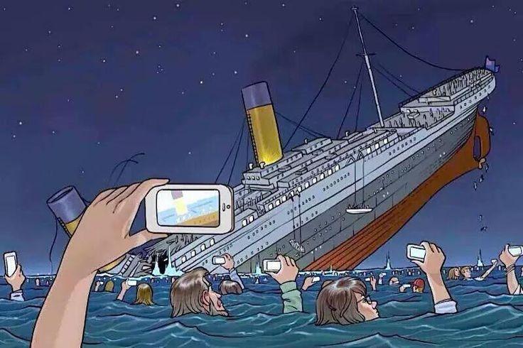Si el Titanic se hubiera hundido en este siglo...