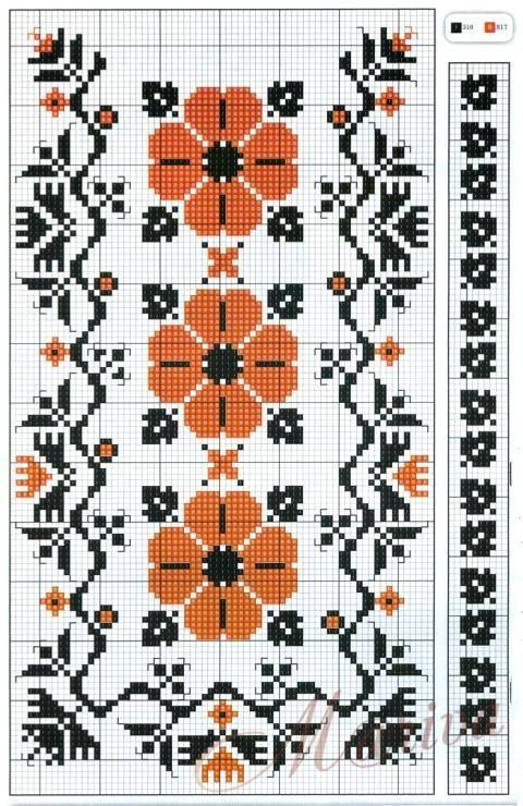 Cross stitch borders                                                                                                                                                                                 More