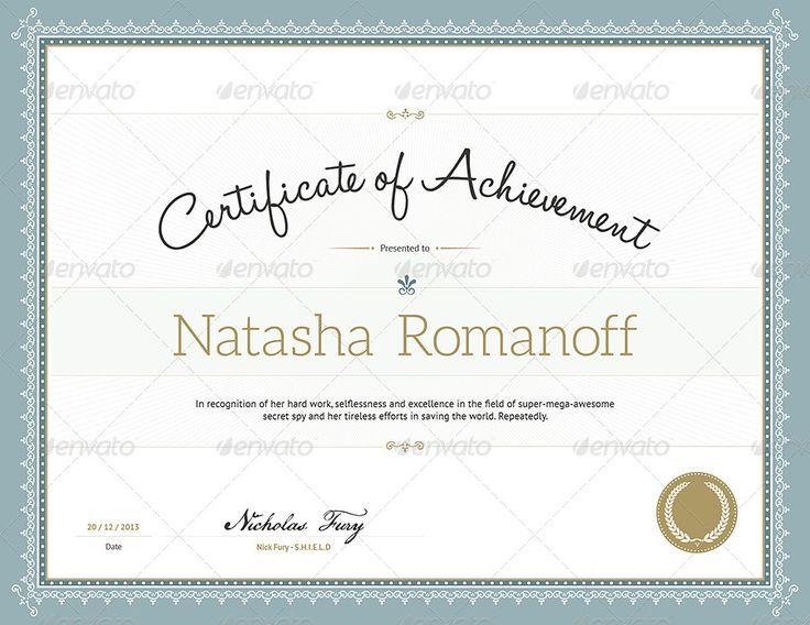 Best  Certificate Format Ideas On   Certificate