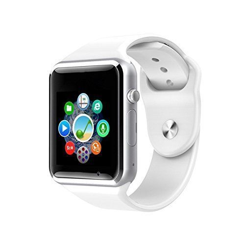 Smart Watch Cell Phone iPhone Android Smartphones HD Camera Bluetooth White New #SmartWatchCellPhoneiPhoneAndroid