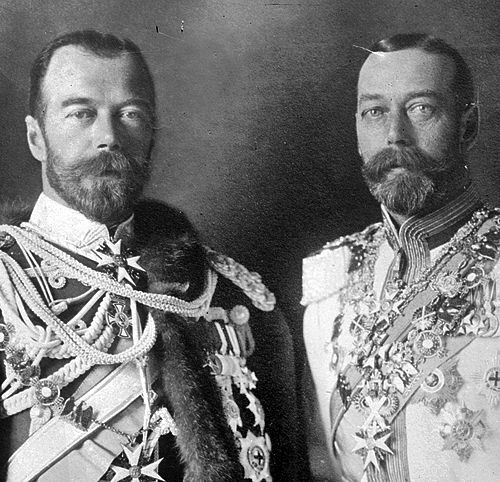 Cousins Tsar Nicholas II Of Russia And King George V Of