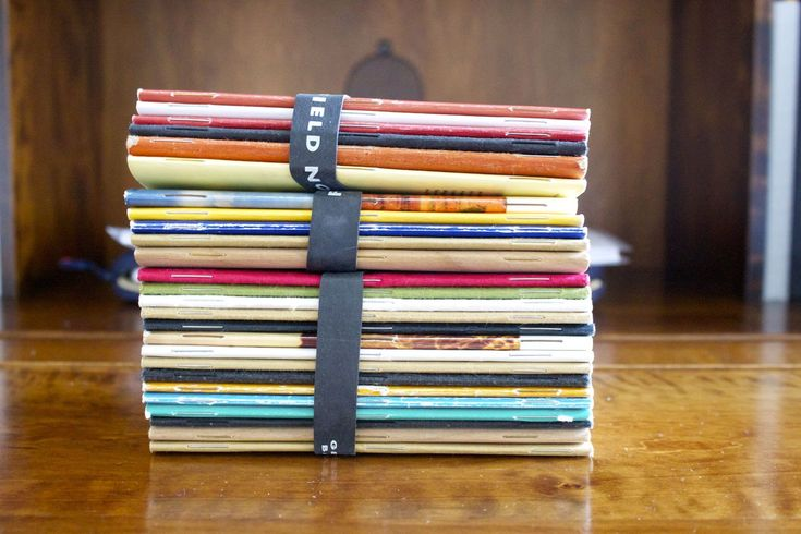 Jenny Mason's Used Field Notes Collection - thefinerpoint.net