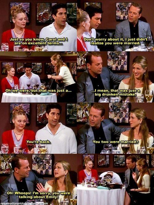 f.r.i.e.n.d.s- I died laughing in this episode ...TOO FUNNY! I wish they were my friends!!!! Haha