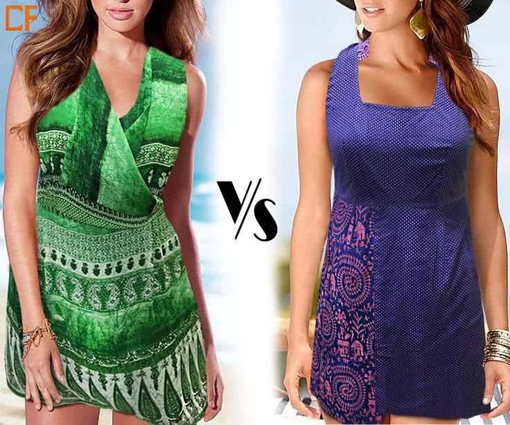 Green or Blue? #fashion #minidresses #onlinestore http://www.droomfashion.com