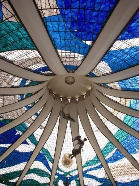 Architectural Designs - Photo Stackz. National Cathedral – Brasilia, Brazil