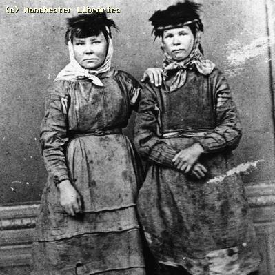 Coal Mining, Women Coal Miners, South Wales, Date: 1890 They look tough!
