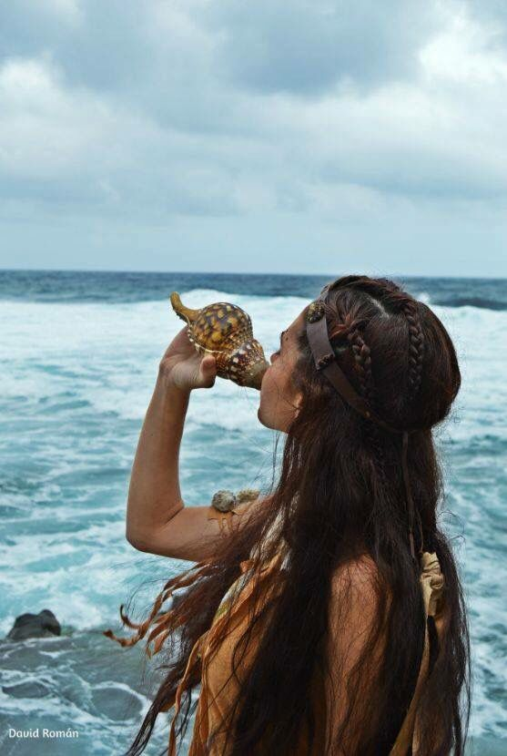 Mujer guanche.
