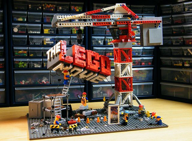 The LEGO Movie, now playing at a theater near you!