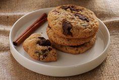 Μπισκότα+με+μέλι+και+κομμάτια+σοκολάτας