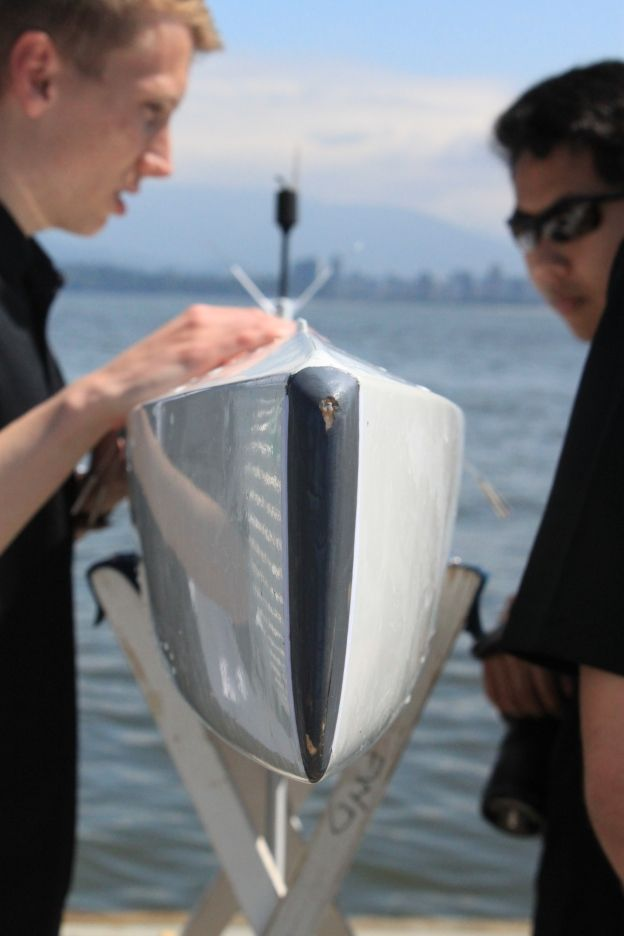 UBC Sailbots preparing for competition in 2012