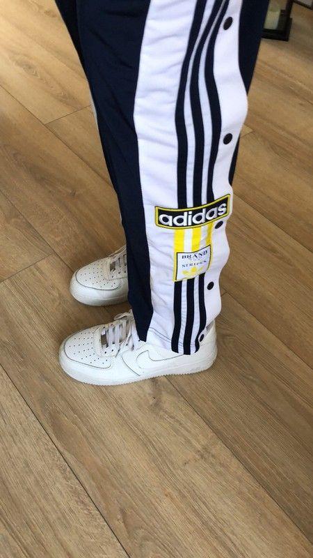 5e1edf07667 Pantalon de survêtement Adibreak Adidas à pressions - vinted.fr ...