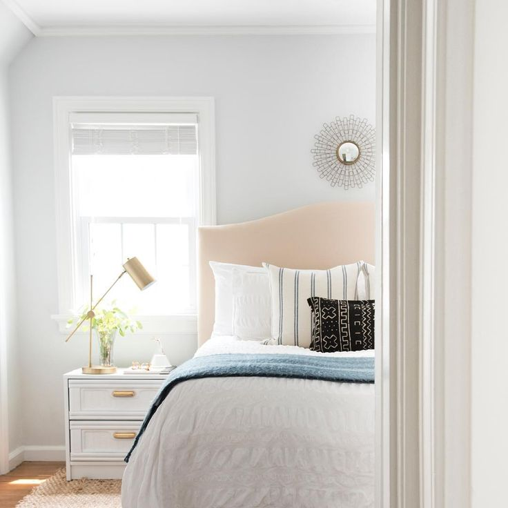 Bedroom Wall Paint Color: Paint Color: Rhinestone By Sherwin Williams
